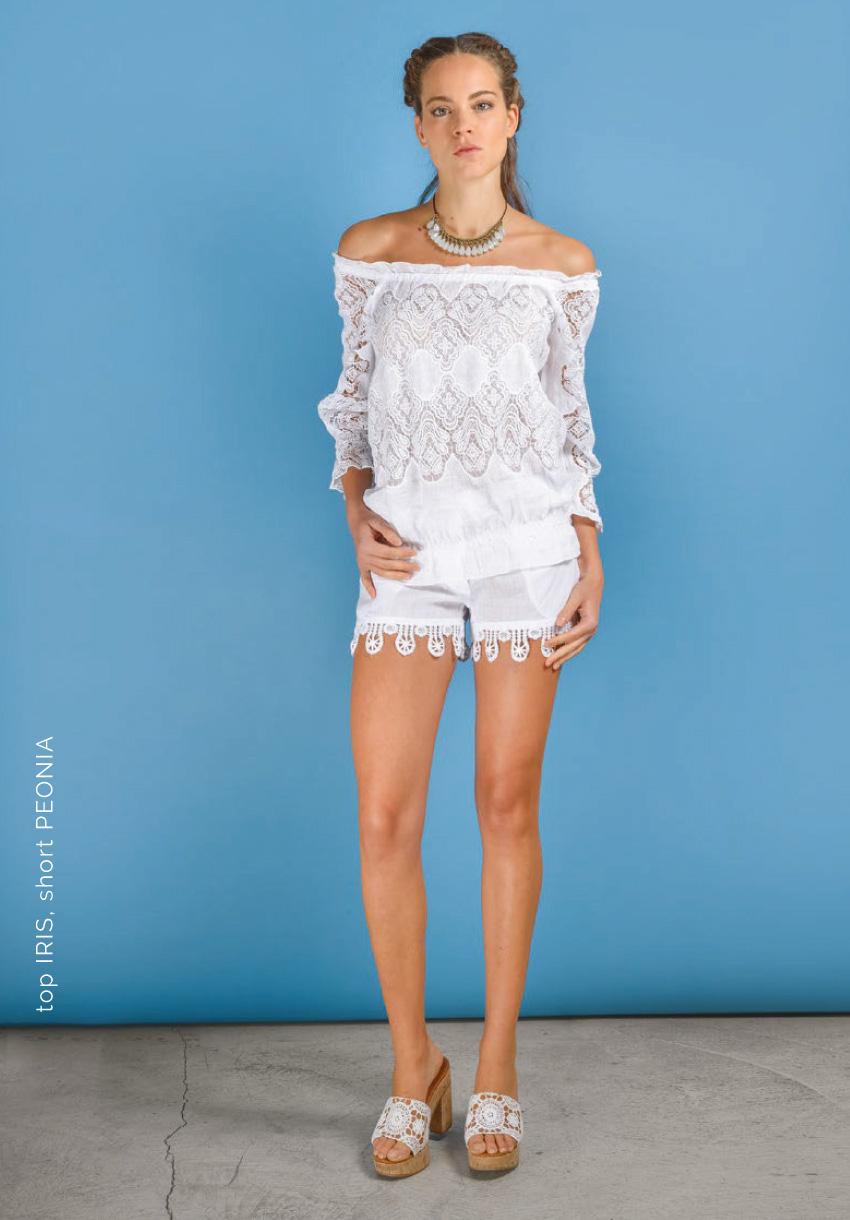 Iris top and Peonia shorts | Temptation Positano