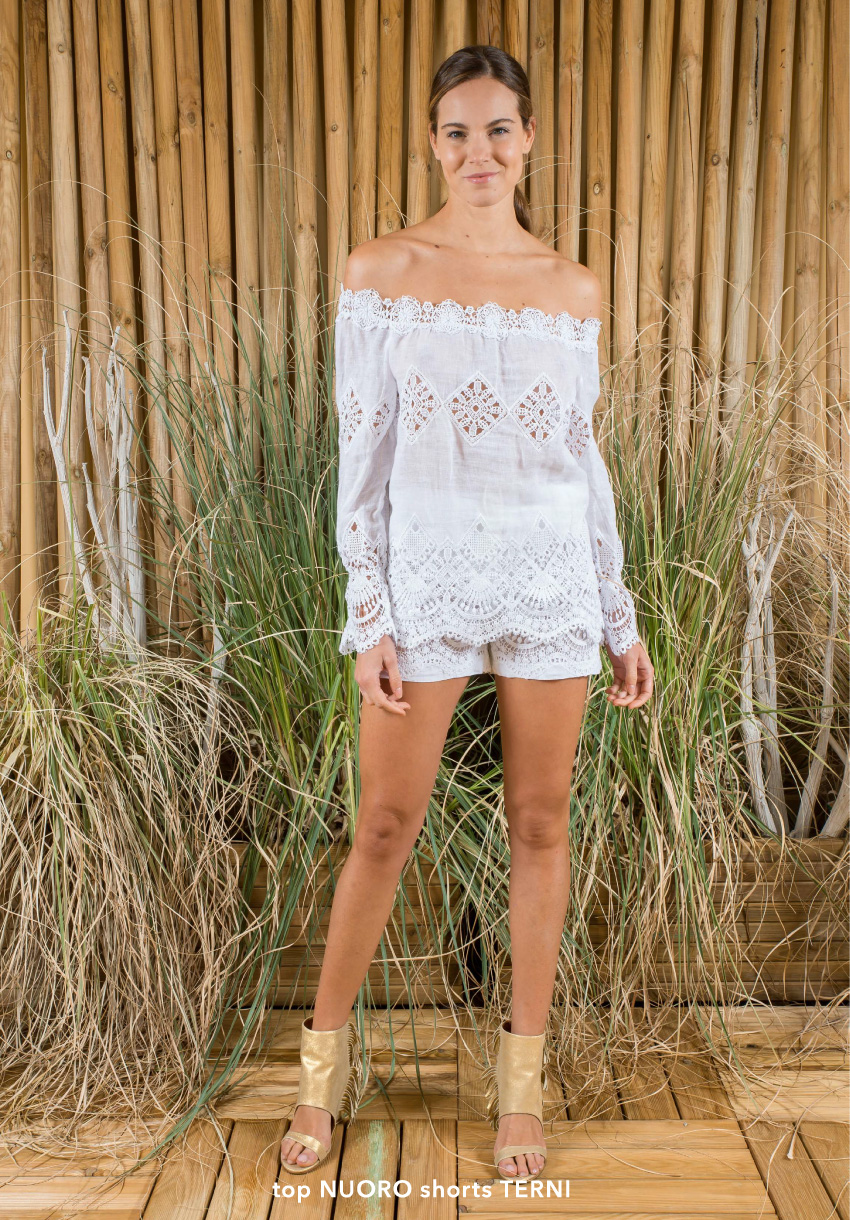 Nuoro top and Terni shorts | Temptation Positano