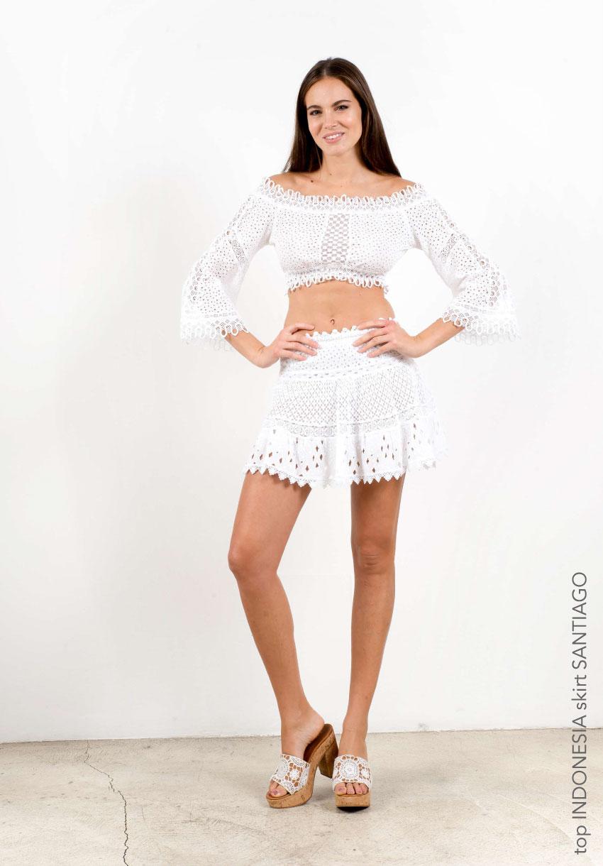 Santiago mini skirt | Temptation Positano